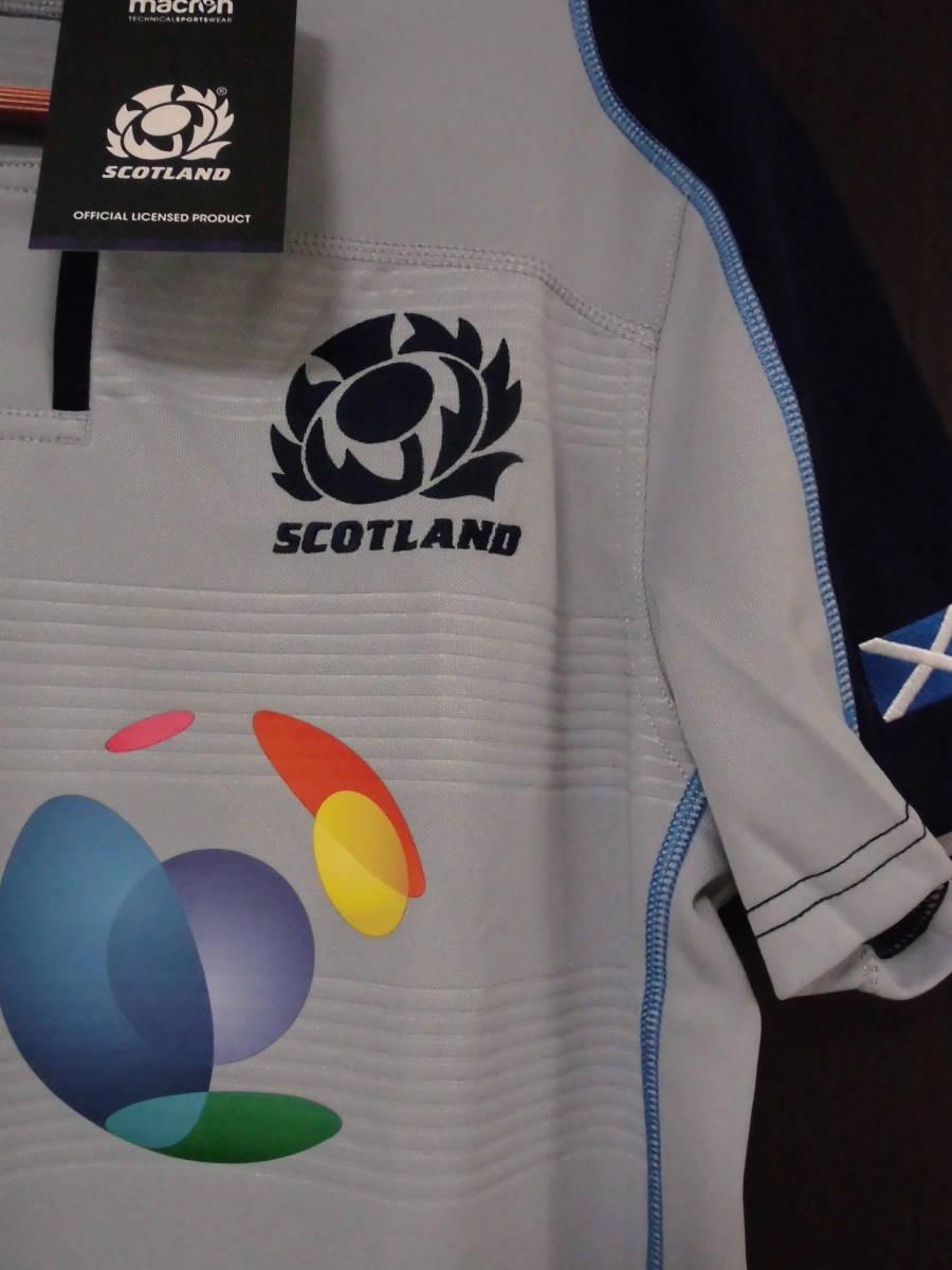 海外S(166-171cm)★Scotland(スコットランド代表)2018/19 Alternate Replica Rugby Shirt(オルタネート レプリカラグビージャージ)★macron_画像6