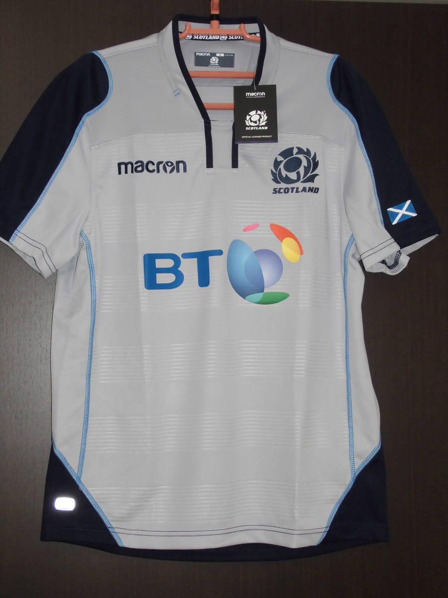 海外S(166-171cm)★Scotland(スコットランド代表)2018/19 Alternate Replica Rugby Shirt(オルタネート レプリカラグビージャージ)★macron_画像1