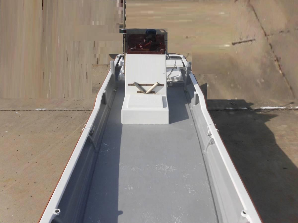 センターコンソール艇 23ft 4スト60馬力搭載_画像6