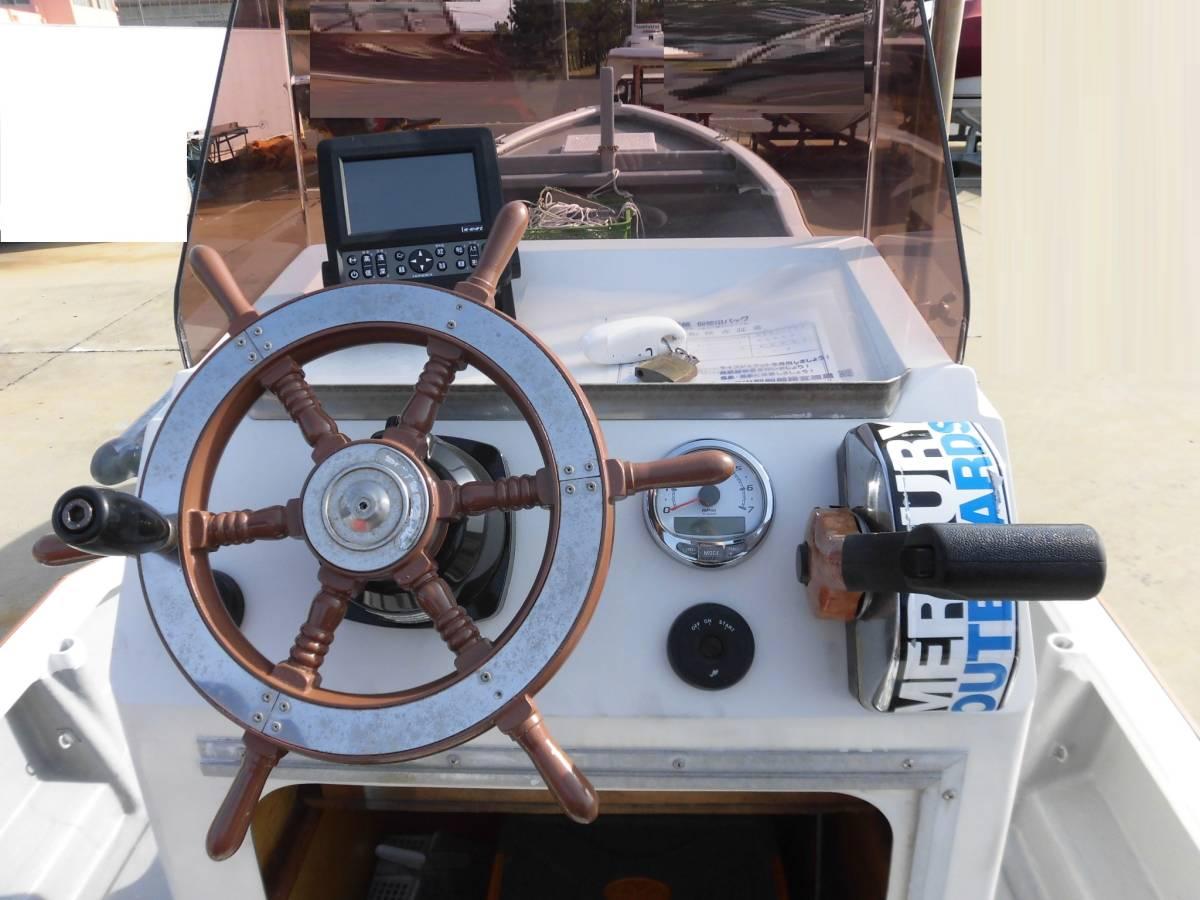 センターコンソール艇 23ft 4スト60馬力搭載_画像7