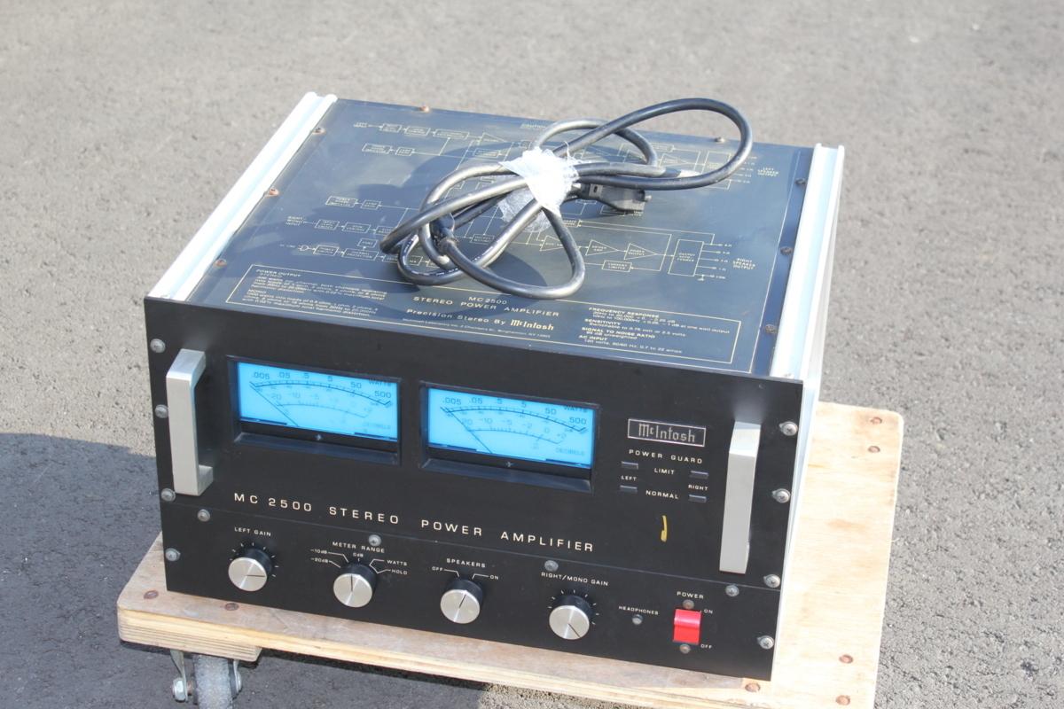マッキントッシュ McIntosh MC2500 パワーアンプ 直接取引大歓迎 静岡県裾野市_画像1