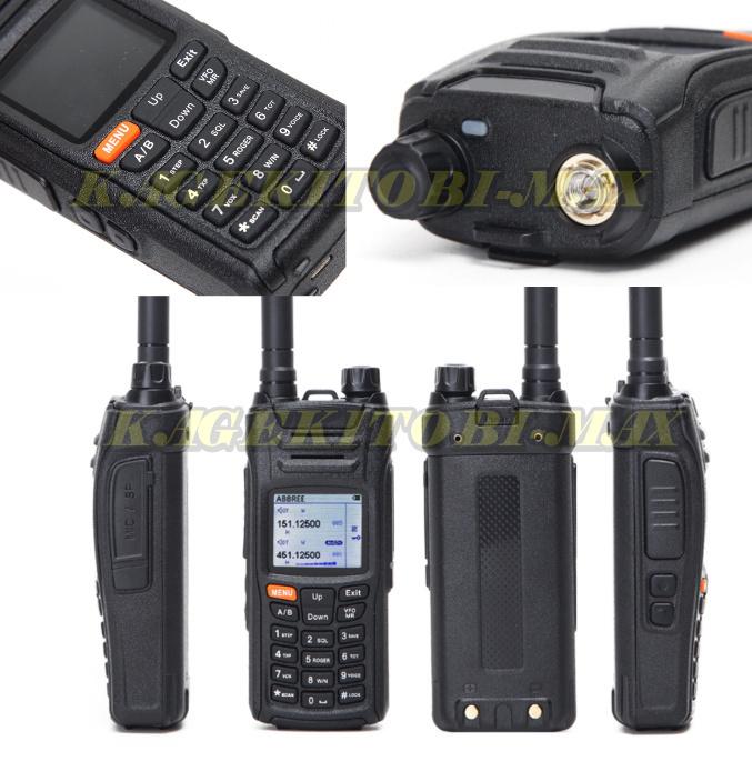 過激飛びMAX-AE01 チューン搭載!! 超過激 ワイドバンド送受信可能 多機能 ハンディ 新品 同時表示&デュアルワッチ/無線機 トランシーバー_画像4