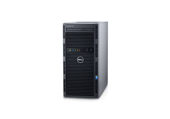 【1円スタート】■DELL PowerEdgeT130 Xeon E3-1220V5 16GB バイオスOK HDD無