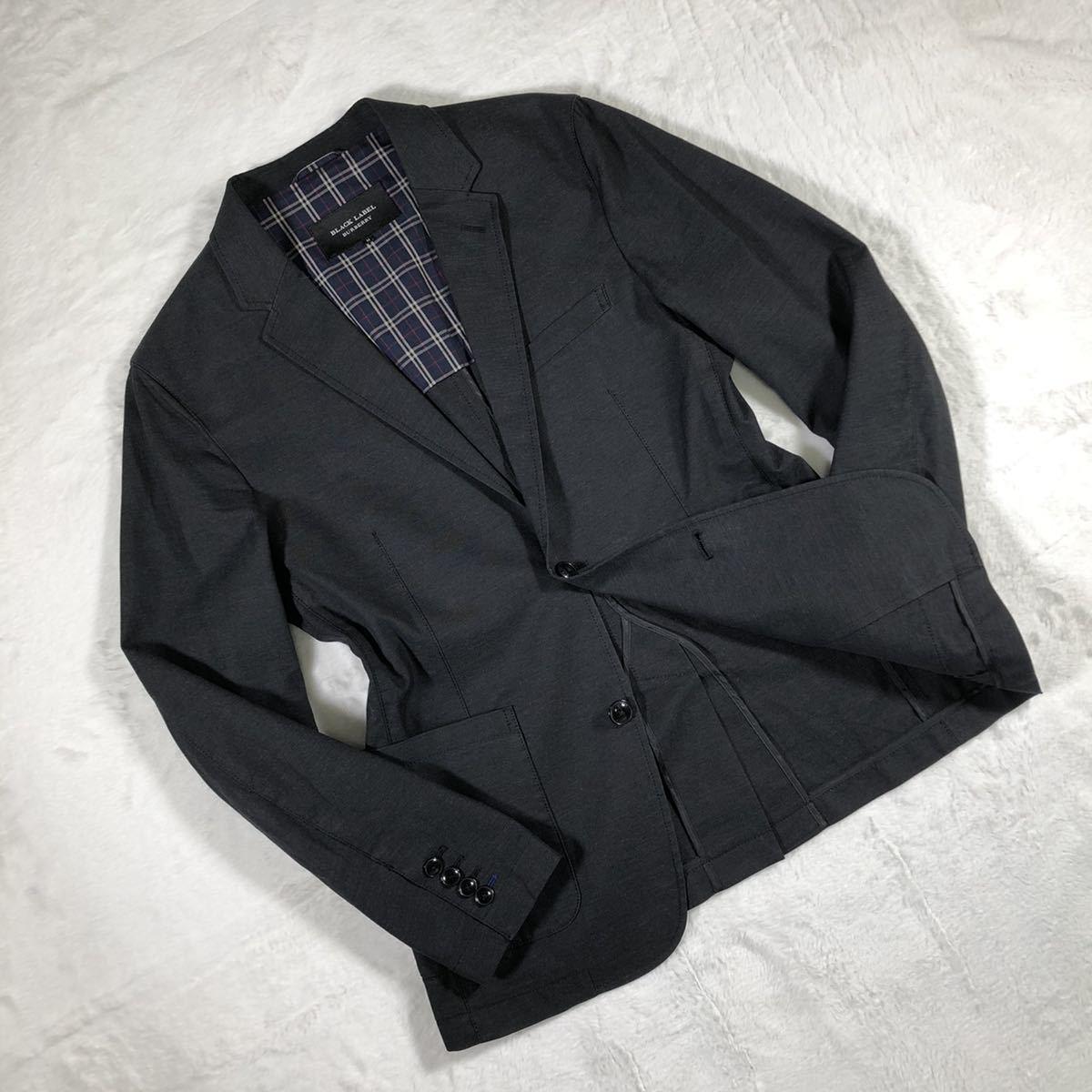 【極美品・希少】バーバリーブラックレーベル ジャケット Mサイズ BURBERRY BLACK LABEL ブルゾン スーツ テーラードジャケット 春夏