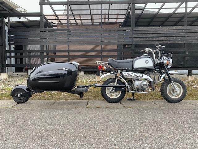 原付バイクにトレーラー モンキー ゴリラ_画像1