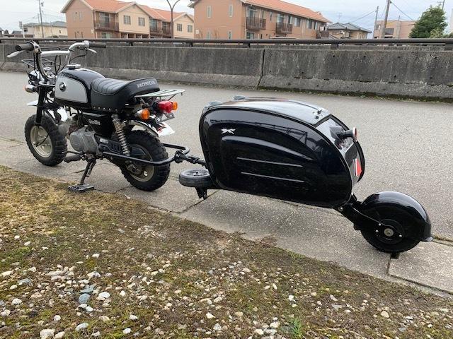 原付バイクにトレーラー モンキー ゴリラ_画像2