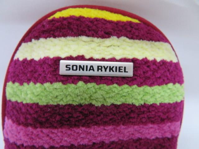 タグ付き 未使用 SONIA RYKIEL BAIN ソニアリキエル バイン ポーチ カラフル ボーダー _画像2