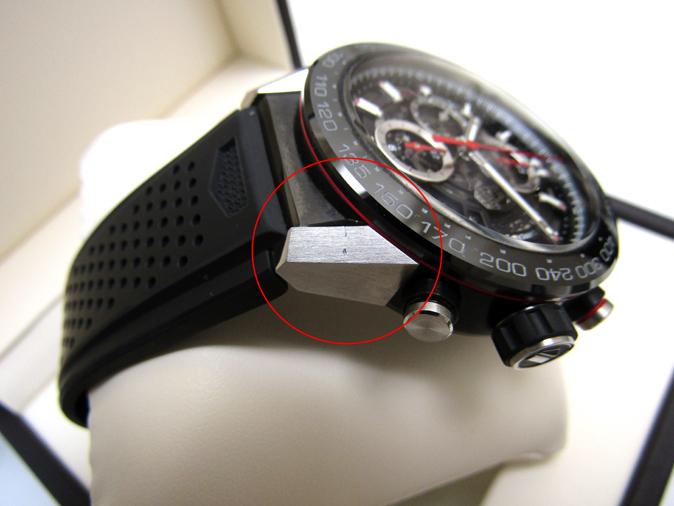 TAG HEUER/タグホイヤー カレラ キャリバー ホイヤー01 CAR2A1Z.FT6044 自動巻き スケルトン ラバーブレス メンズ腕時計_画像9