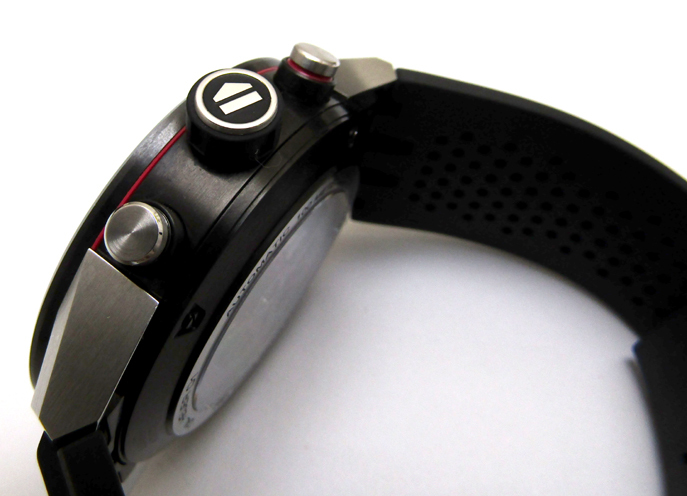TAG HEUER/タグホイヤー カレラ キャリバー ホイヤー01 CAR2A1Z.FT6044 自動巻き スケルトン ラバーブレス メンズ腕時計_画像5