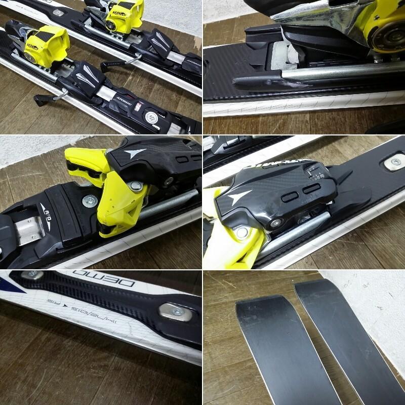 ATOMIC アトミック スキー板 BLUESTER ブルースター 164 PISTE ROCKER ビンディング NEOX シナノ製 ストック フリーM 付_画像5