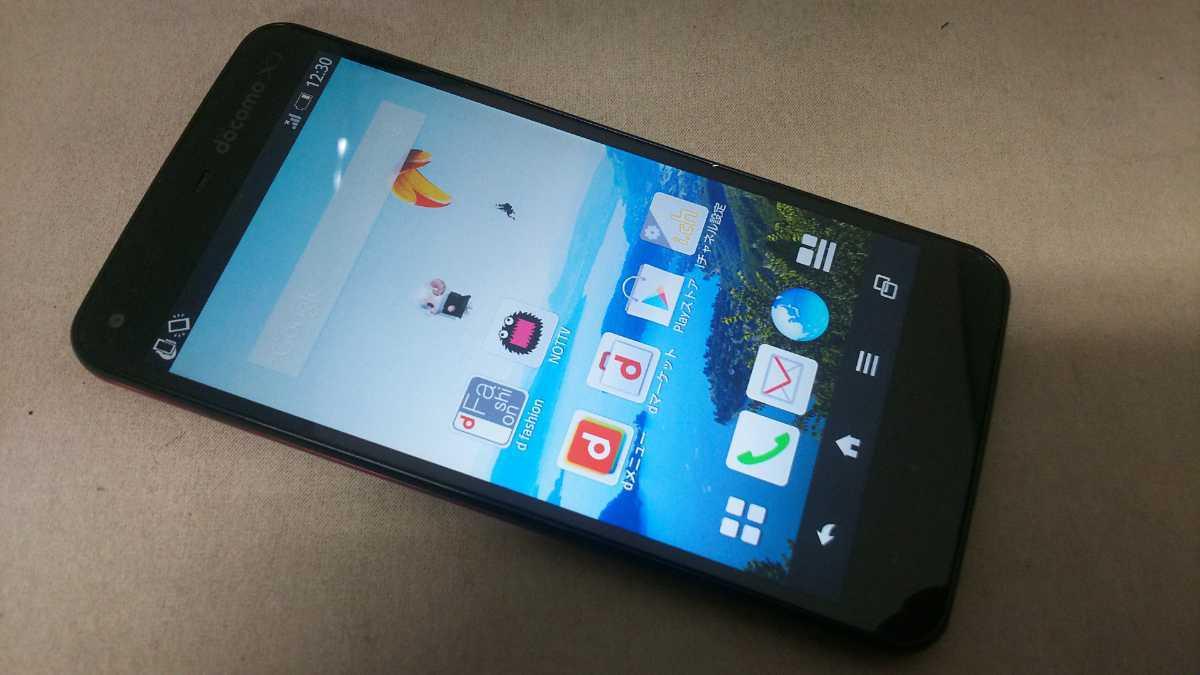 docomo Xi AQUOS PHONE SH-01F #1 SHARP スマートフォン 簡易動作確認&簡易清掃&初期化OK 判定○_画像2