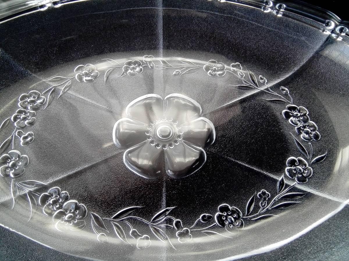 アデリアグラス  石塚硝子 ガラス製 クックトレー  楕円形皿 5客 未使用_画像5