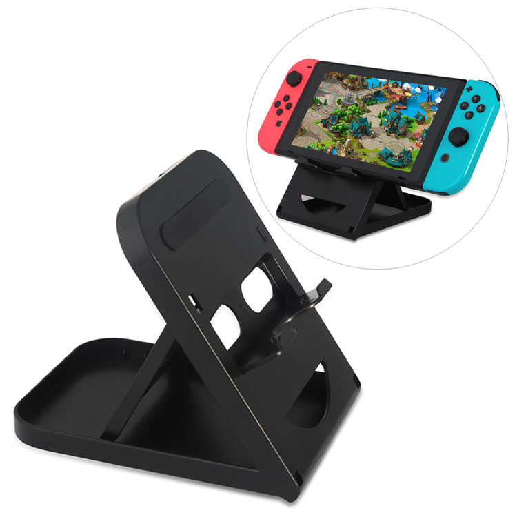 Nintendo Switch用スタンド 折り畳み式 3段階角度調節可 タブレット スマホにも マルチ卓上スタンド