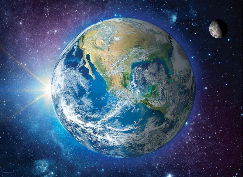 6000-5541 1000ピース ジグソーパズル カナダ輸入●EU●地球 Earth Our Planet