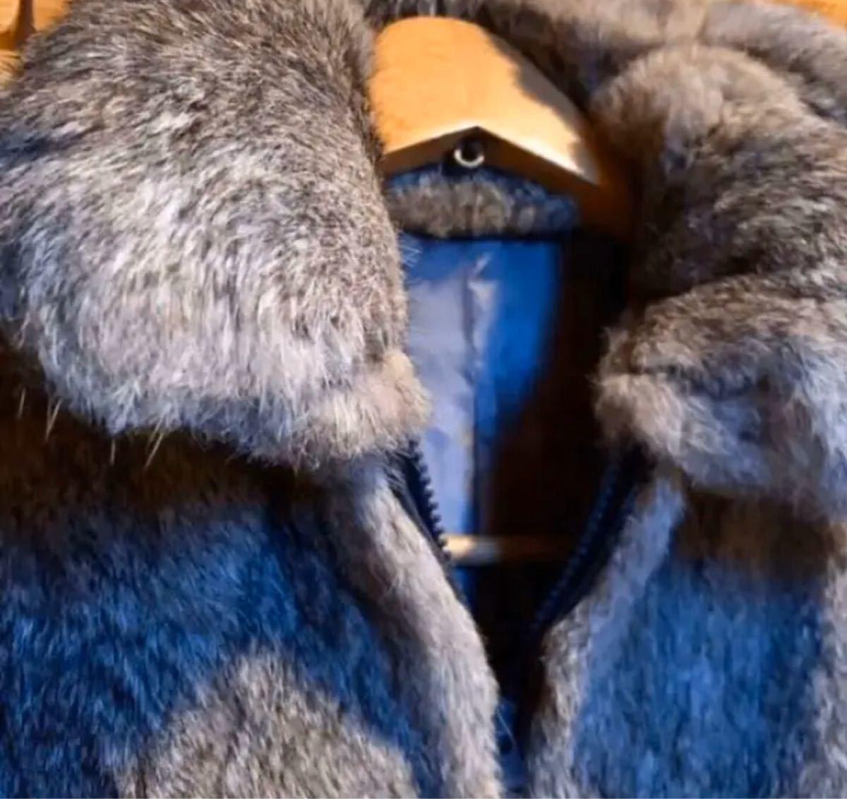 毛皮 ラビットファー コート ジャケット