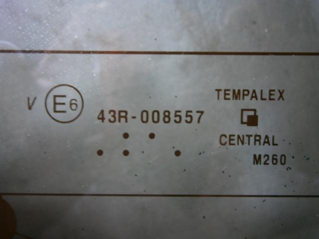 スズキ スペーシア MH42S 純正 バックドアガラス プライバシー リアゲートガラス_画像5
