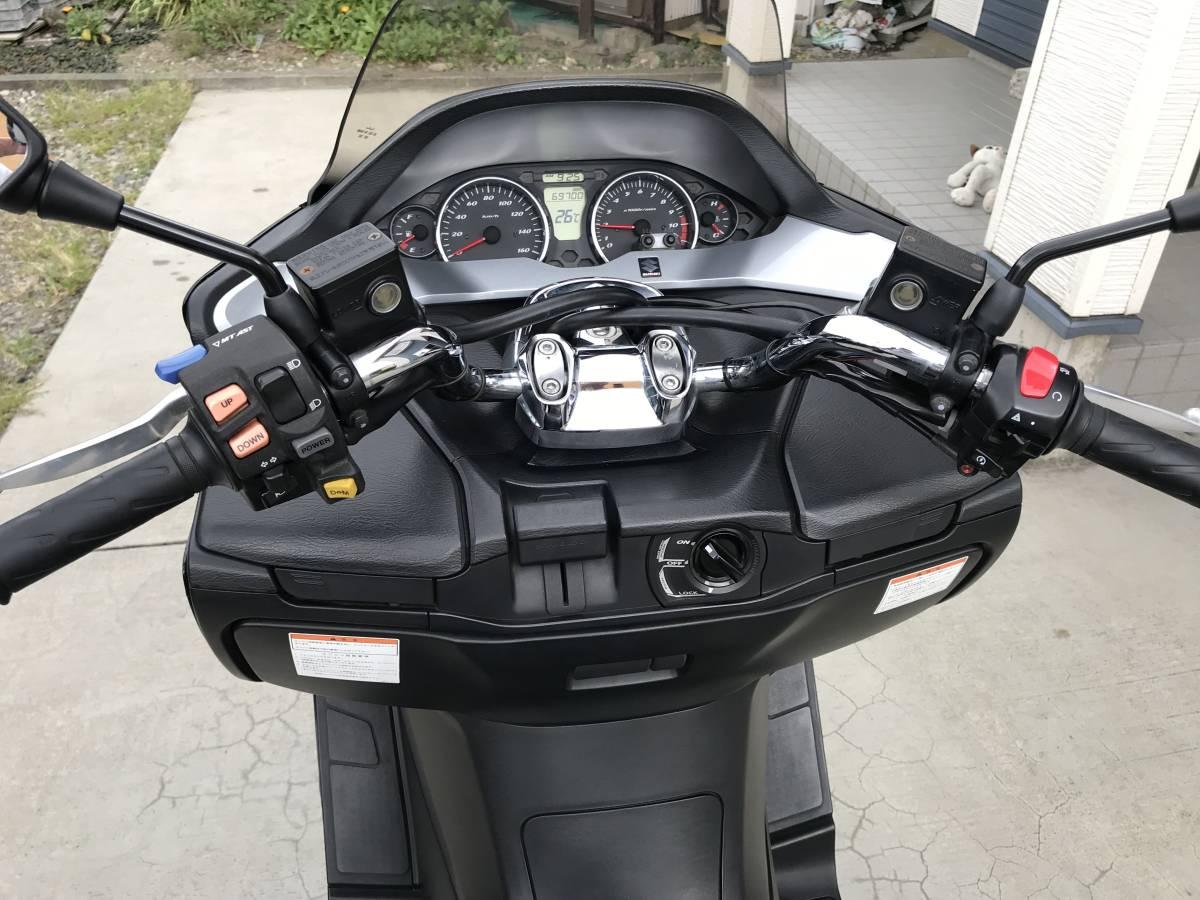 「スズキ スカイウェイブ250M (MK7) CJ45A (マニュアルモードAT/MT搭載・スマートキー・FI車)」の画像3