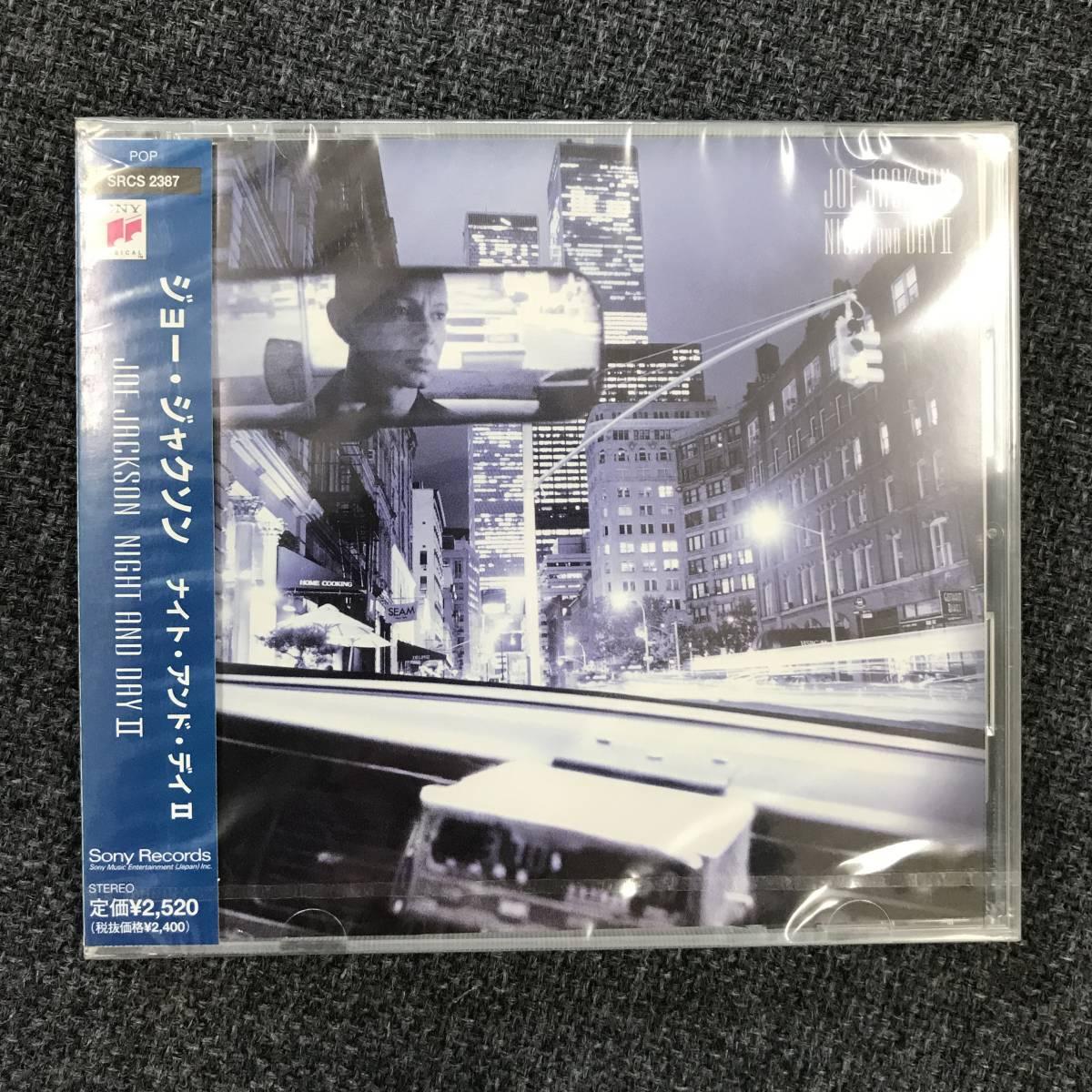 新品未開封CD☆ジョー・ジャクソン ナイト・アンド・デイII /<SRCS2387>/_画像1