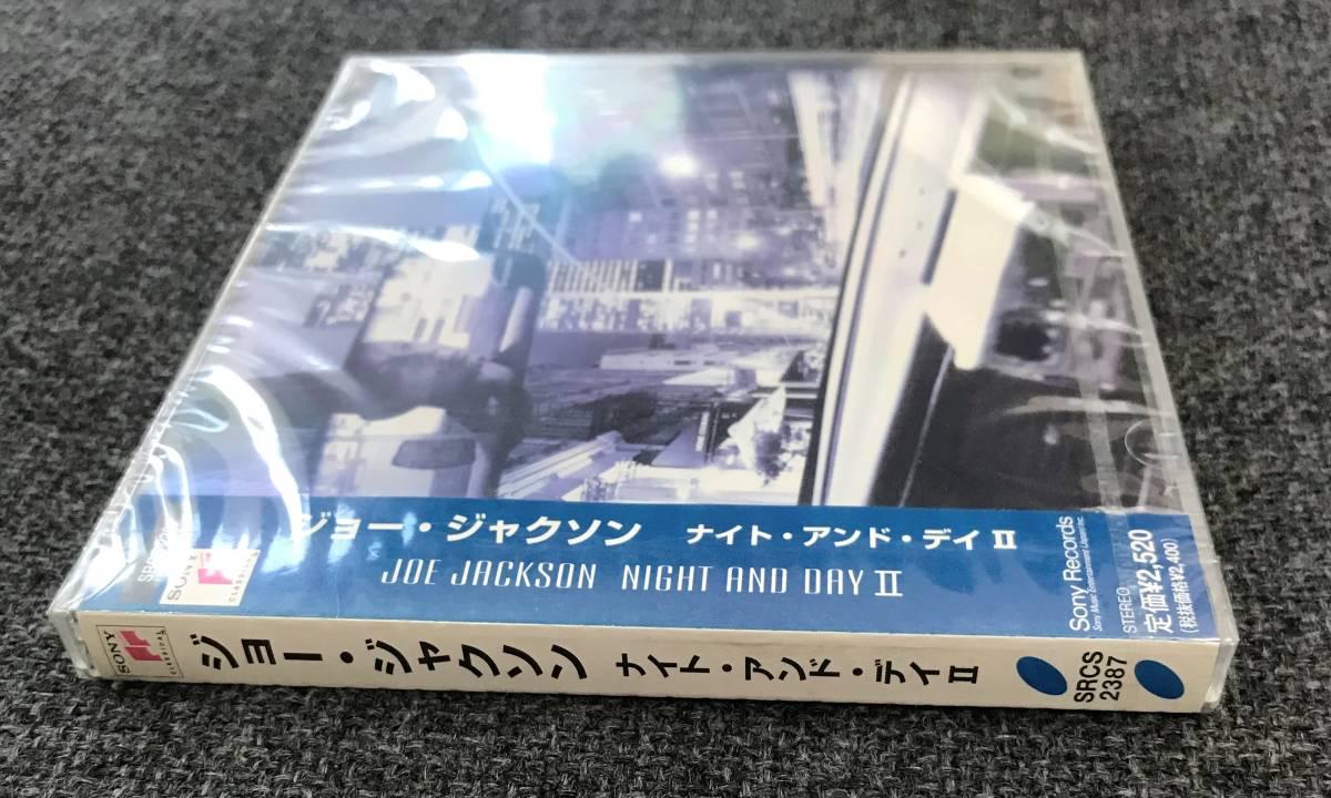 新品未開封CD☆ジョー・ジャクソン ナイト・アンド・デイII /<SRCS2387>/_画像3