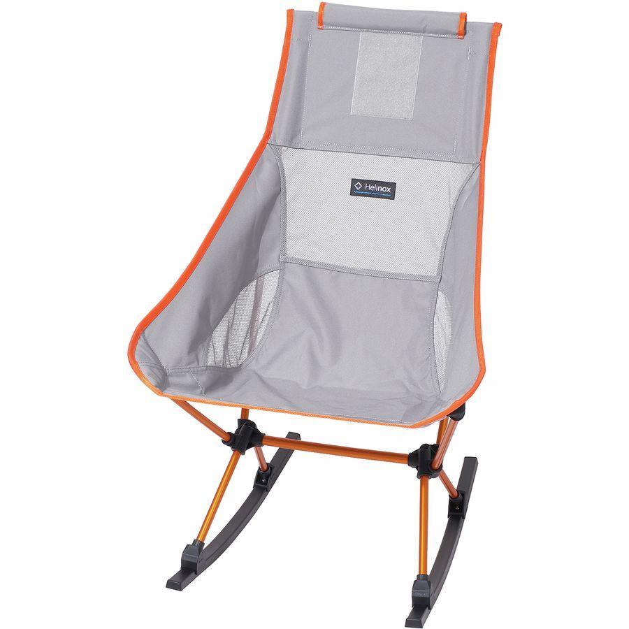 新品 Helinox Chair Two Rocker ヘリノックス チェア ツー ロッカー グレイ 折りたたみ ロッキングチェア コンパクト キャンプ