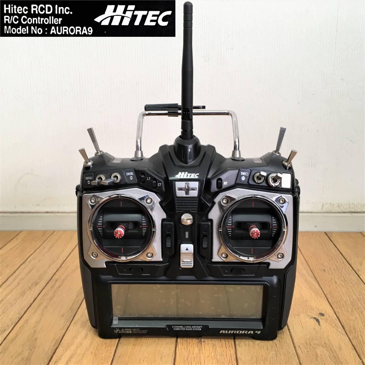 ハイテック/プロポ/AURORA9/ジャンク/HITEC/オーロラ9/2.4GHz/送信機/ラジコン/玩具_画像1