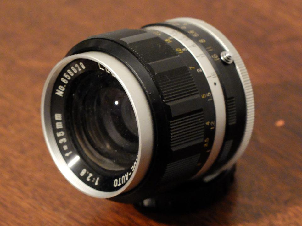 【中古/珍品/ジャンク扱い】ラッキートキナー WIDE AUTO 35mm f2.8〈M42マウント〉:LUCKY-TOKINA Wide Auto 35mm f2.8_画像1