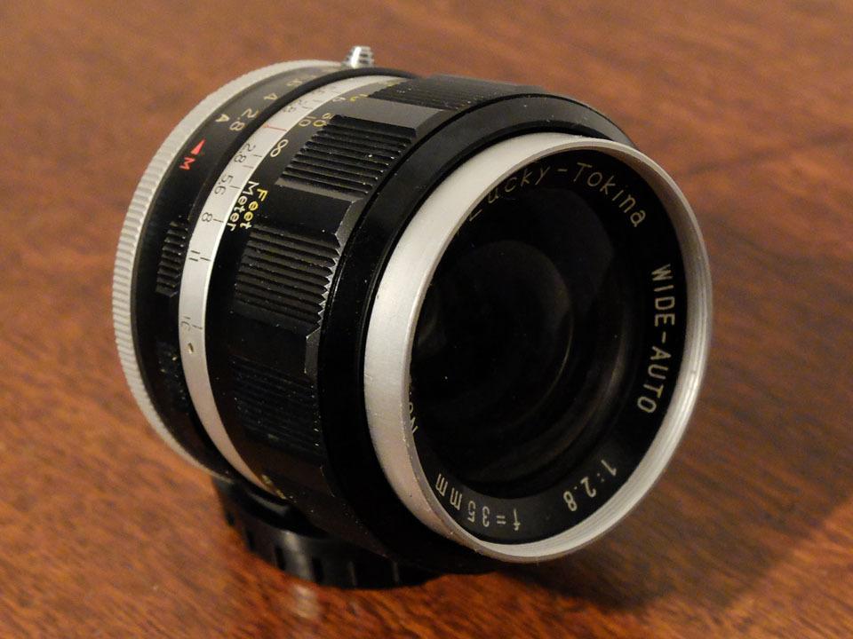 【中古/珍品/ジャンク扱い】ラッキートキナー WIDE AUTO 35mm f2.8〈M42マウント〉:LUCKY-TOKINA Wide Auto 35mm f2.8_画像2