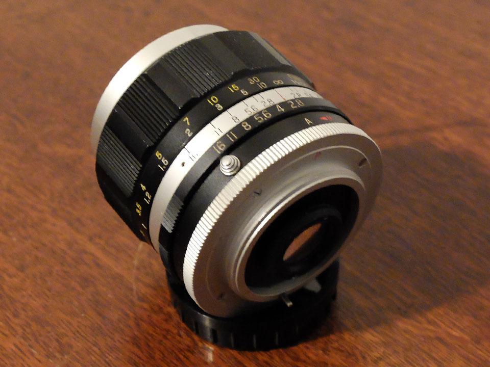 【中古/珍品/ジャンク扱い】ラッキートキナー WIDE AUTO 35mm f2.8〈M42マウント〉:LUCKY-TOKINA Wide Auto 35mm f2.8_画像3
