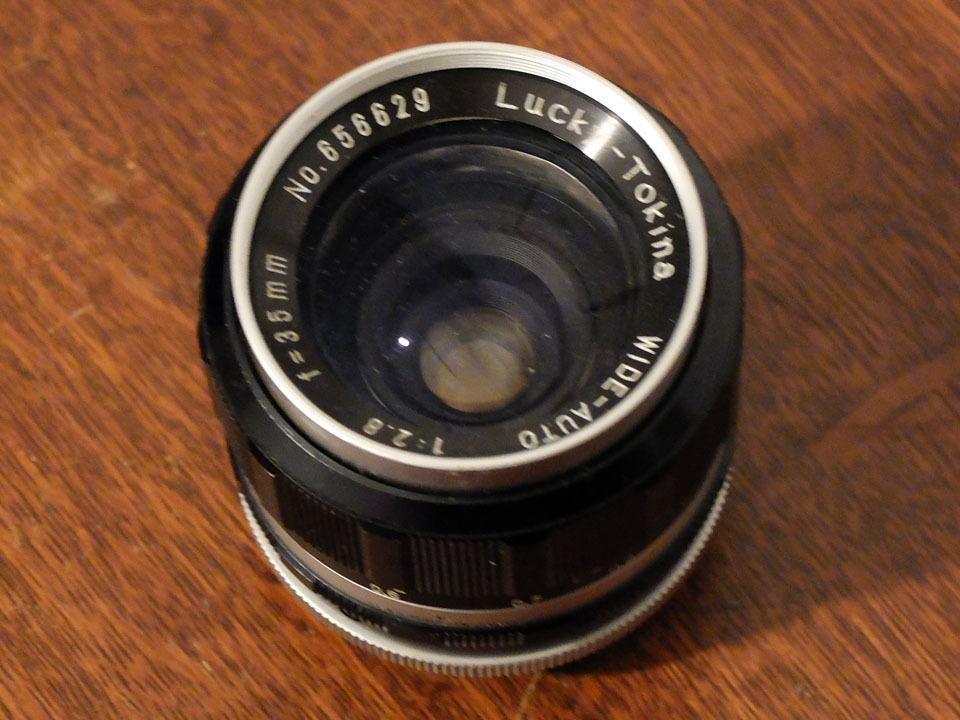 【中古/珍品/ジャンク扱い】ラッキートキナー WIDE AUTO 35mm f2.8〈M42マウント〉:LUCKY-TOKINA Wide Auto 35mm f2.8_画像4