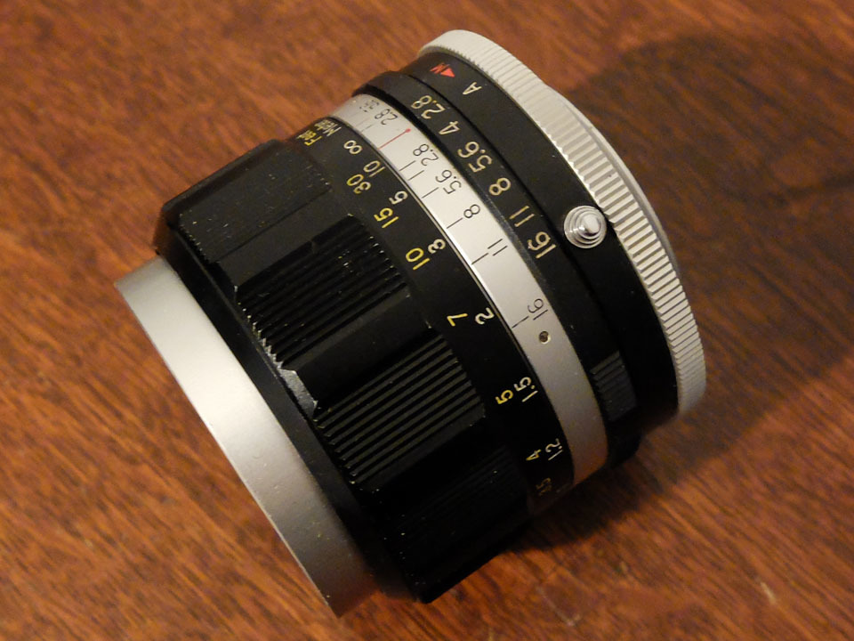 【中古/珍品/ジャンク扱い】ラッキートキナー WIDE AUTO 35mm f2.8〈M42マウント〉:LUCKY-TOKINA Wide Auto 35mm f2.8_画像7