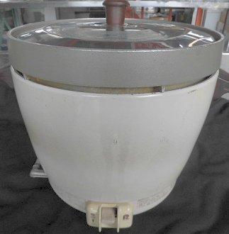 838 リンナイ 業務用 ガス炊飯器 RR-20SF2 2升炊き 4.0L 都市ガス用 店舗 中古 ●送料込_画像1
