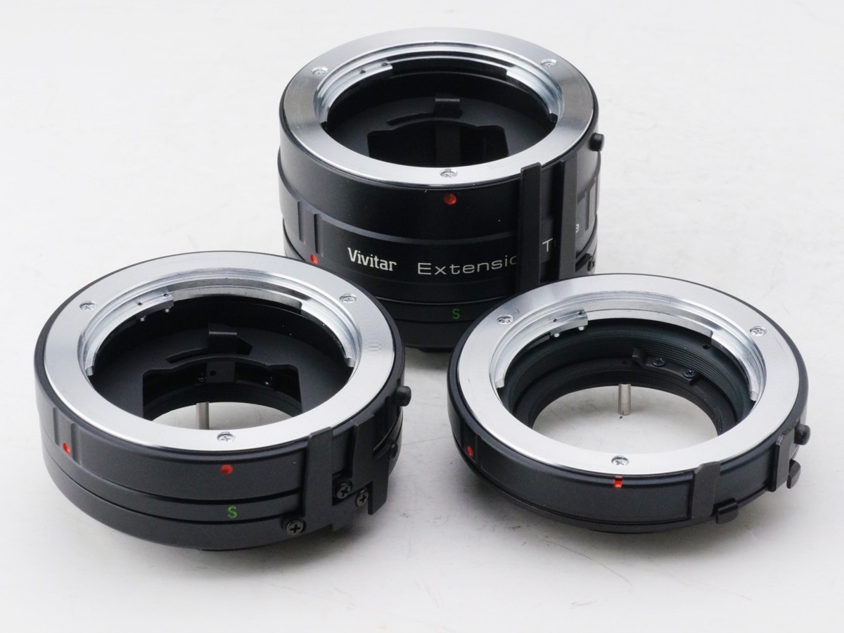 Vivitar Automatic Extension Tube For Minolta MD マウント 接写 リング RING 中間 美品!!!!!! ミノルタ_画像4