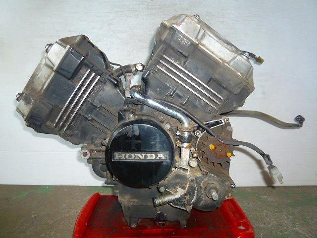 VT250F・MC08・初期型★エンジン本体・初爆確認・15188km★HX1-84_画像1
