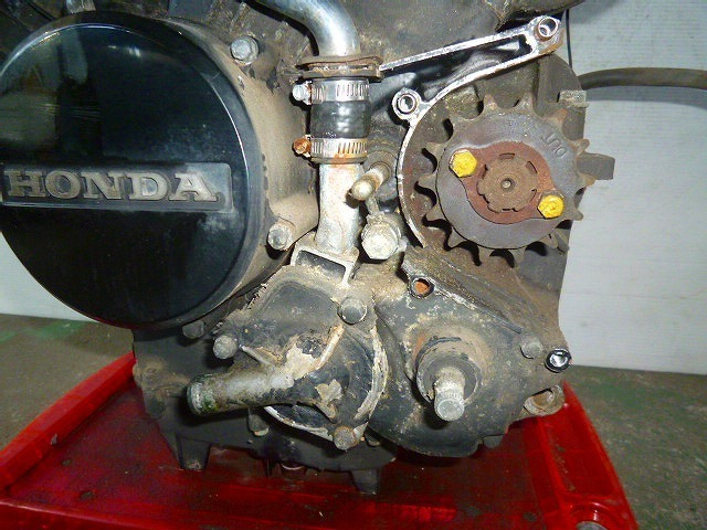 VT250F・MC08・初期型★エンジン本体・初爆確認・15188km★HX1-84_画像2