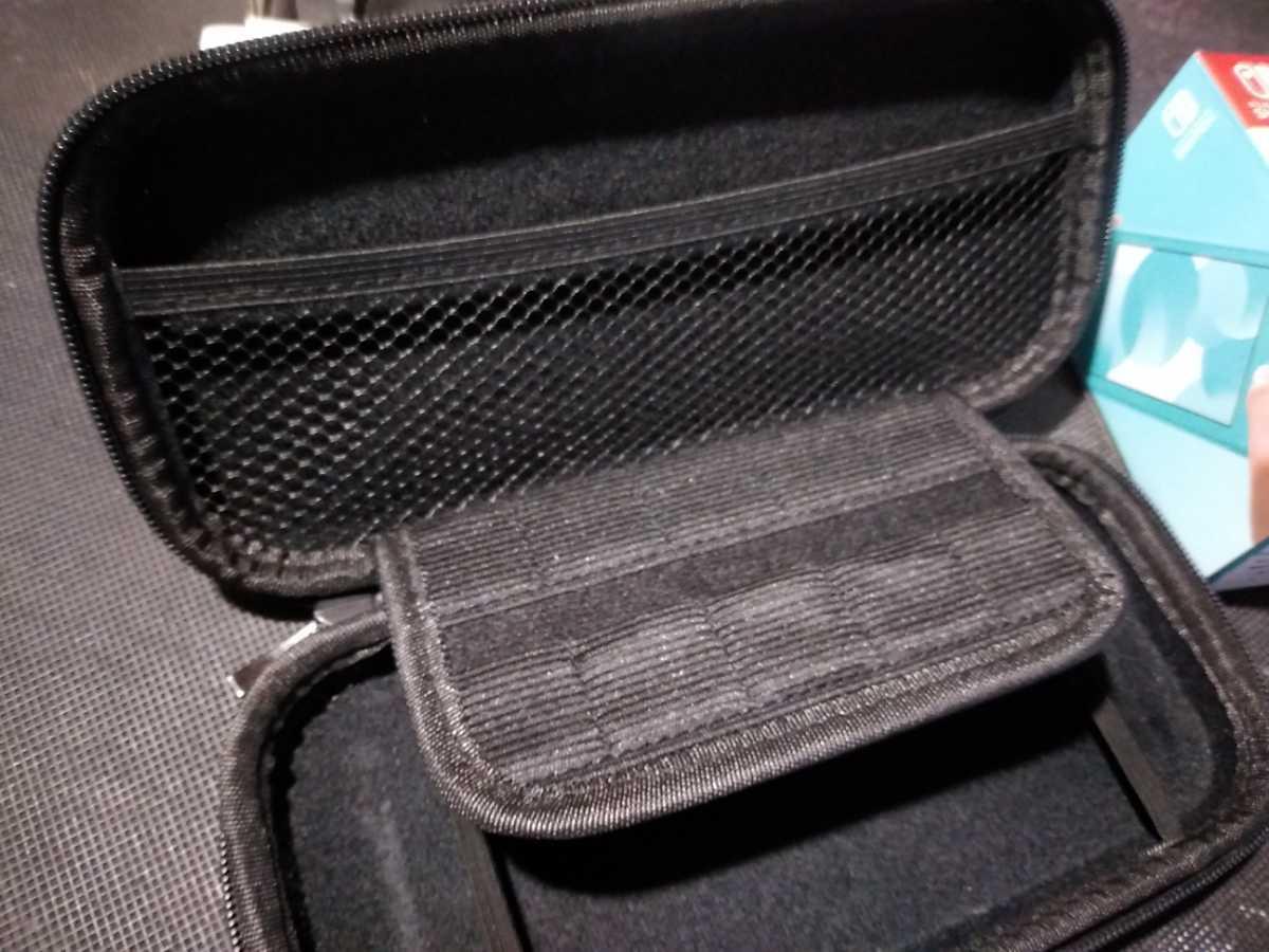 送料込み ニンテンドー スイッチ ライト 本体 ターコイズ Nintendo Switch Lite 任天堂 中古 GEO保証 ハードケース カバー付き HDH-001_画像3