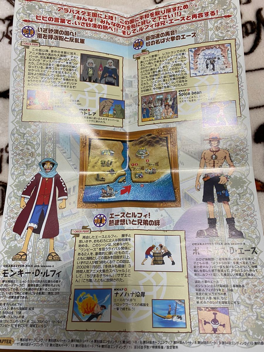 【ONE PIECE】 ワンピース DVD アラバスタ上陸篇 3本セット