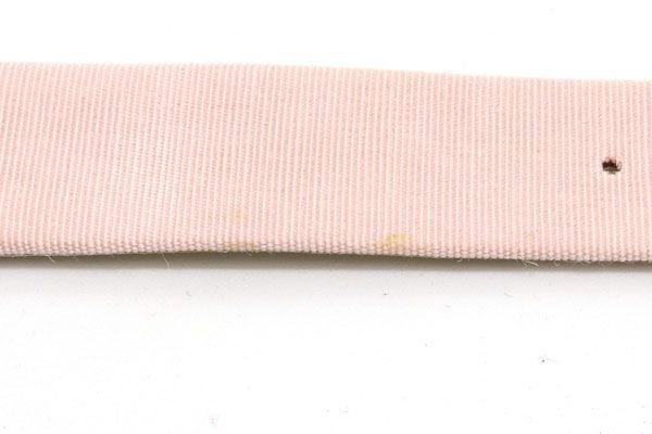 ショパール 替えベルト 純正 ハッピーダイヤ用 ピンク キャンバス レザー 時計 Watch chopard|腕時計バンド_画像4