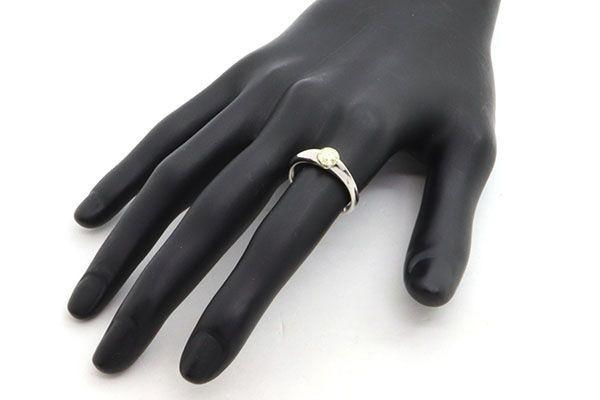 ダイヤモンド リング 一粒 ラウンドブリリアントカット 0.593ct Pt900 13号 中古 指輪 プラチナ Diamond_画像8