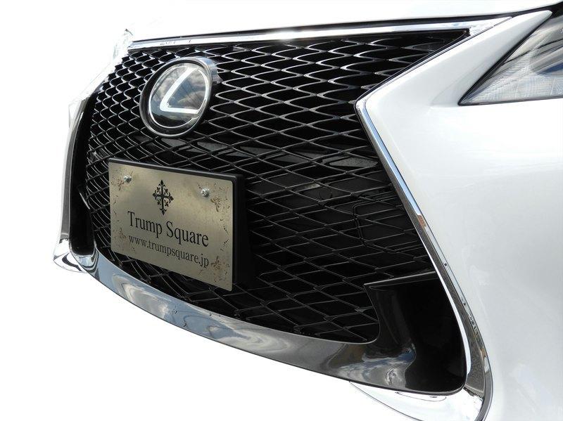 現行に顔替 LEXUS GS 10系 前期 を 後期 GS-F Fスポーツ Ver2 フロントバンパー レクサス エアロ スピンドルグリル 未塗装 CONSEGS_GS-F仕様 F/B