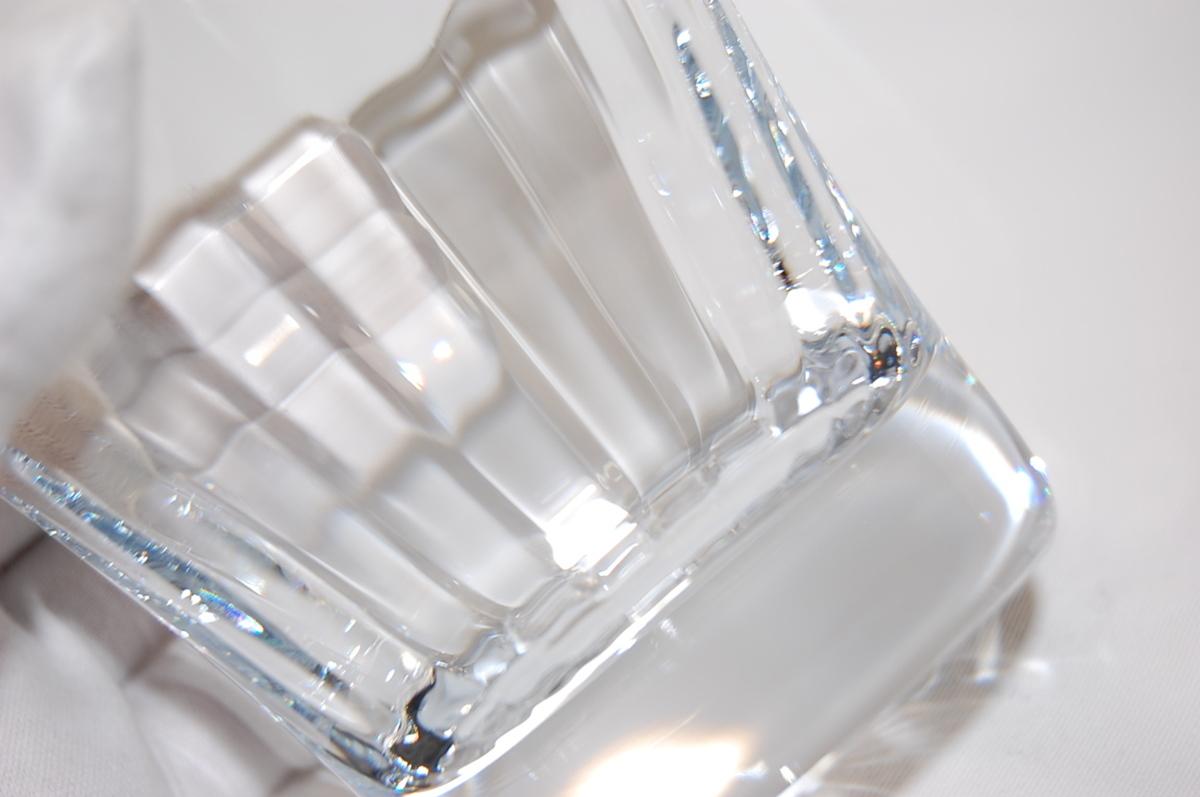 バカラ Baccarat ミルニュイ タンブラー 2客セット ペアグラス クリスタルガラス ロックグラス マティアス 【未使用品】_画像6