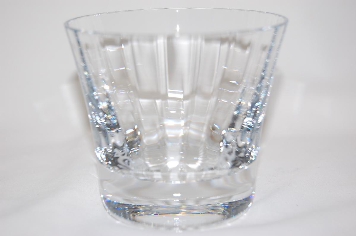 バカラ Baccarat ミルニュイ タンブラー 2客セット ペアグラス クリスタルガラス ロックグラス マティアス 【未使用品】_画像5