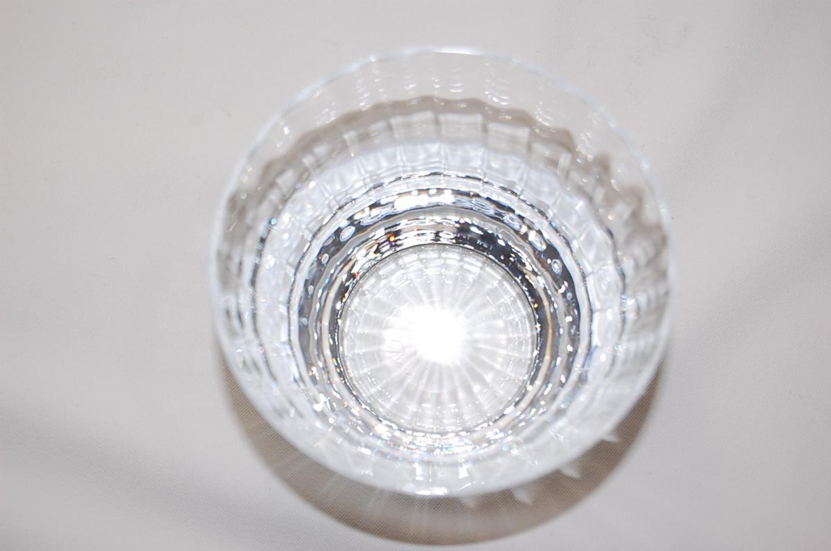 バカラ Baccarat ミルニュイ タンブラー 2客セット ペアグラス クリスタルガラス ロックグラス マティアス 【未使用品】_画像3