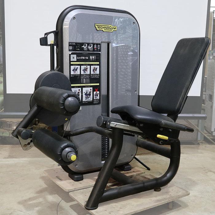‰ テクノジム レッグカール MB350C0 ジム エクササイズ フィットネス トレーニング マシン エレメントプラス 中古 KC_画像1