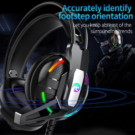 F100 ゲーミングヘッドセット マイク付き 人気ヘッドホン FPS アクション 映画 音楽 PC/ゲーム機 ブラック_画像5