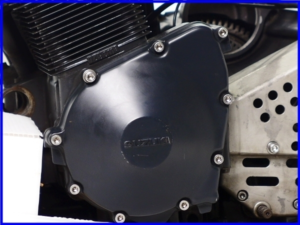 【EF】希少♪GSX-R750RG SP LTD 乾式クラッチ 実働エンジン♪_画像2