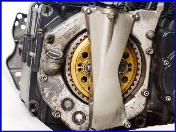 【EF】希少♪GSX-R750RG SP LTD 乾式クラッチ 実働エンジン♪_画像10
