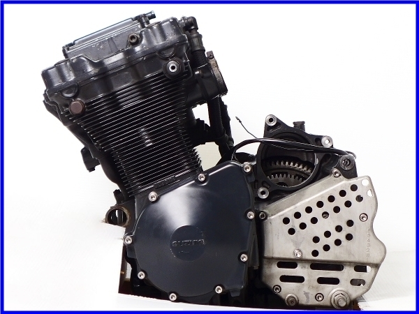 【EF】希少♪GSX-R750RG SP LTD 乾式クラッチ 実働エンジン♪_画像1