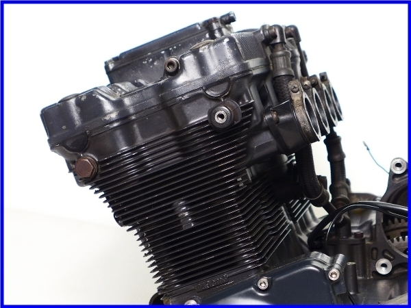 【EF】希少♪GSX-R750RG SP LTD 乾式クラッチ 実働エンジン♪_画像3