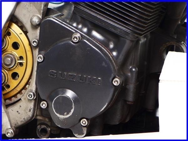 【EF】希少♪GSX-R750RG SP LTD 乾式クラッチ 実働エンジン♪_画像9