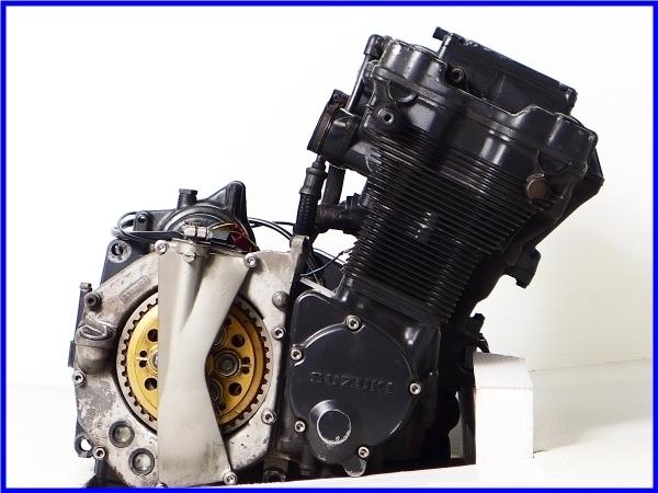 【EF】希少♪GSX-R750RG SP LTD 乾式クラッチ 実働エンジン♪_画像7